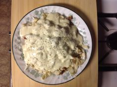 Homemade Alfredo Sauce  This sauce is great on our homemade Alfredo noodles or the chocolate Alfredo noodles for a surprising delight.  Pint Jar - 4.50 Quart Jar - 8.00