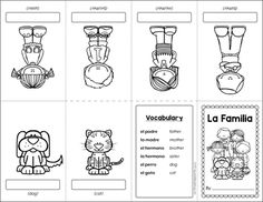 This mini-book will help your students remember vocabulary