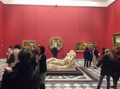 Firenze, Galleria degli Uffizi, Sala Michelangelo – nuovo allestimento (foto Valentina Grandini)