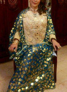 """R da"", seconde tenue portée par la Mariée de Tlemcen"