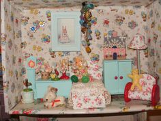 My home made dolls house.Maggie Neale.
