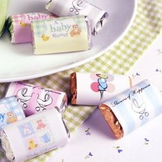 Miniaturas personalizado bebé Hershey