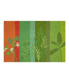 Loving this Herbs de Provence Rug on #zulily! #zulilyfinds