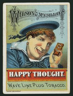 Wilson & McCallay Tobacco Company / Happy Thought | Sheaff : ephemera