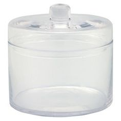 "Diamond Star Glass Apothecary Jar with Lid Clear (6.5""x6.5"