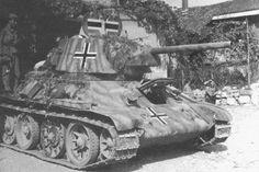A Russian T-34/76 in German service
