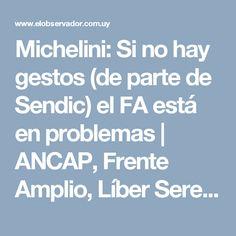 Michelini: Si no hay gestos (de parte de Sendic) el FA está en problemas | ANCAP, Frente Amplio, Líber Seregni, fallo, Mesa Política, Rafael Michelini, sanción, Tarjetas, Sendic