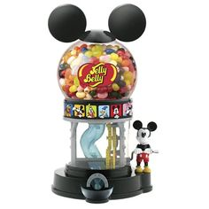 Disney Mickey Mouse Jelly Belly Bean Machine with Jelly Beans Cozinha Do Mickey Mouse, Mickey Mouse Kitchen, Disney Kitchen, Mickey Mouse Gifts, Disney Mickey Mouse, Minnie Mouse, Jelly Belly Beans, Jelly Beans, Mickey E Minie
