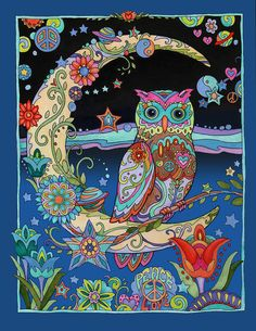 Find adult coloring books at Michaels Stores, including mandala coloring books, zentangle coloring books, and more. Adult Coloring, Coloring Books, Coloring Pages, Owl Artwork, Whimsical Owl, Owl Always Love You, Beautiful Owl, Wise Owl, Fine Art America