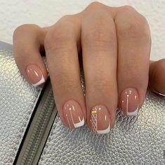 Negative Space Nails, Cute Acrylic Nails, Hair And Nails, Nail Art Designs, Make Up, Luxury Homes, Beauty, Nail Art, Gel Nail
