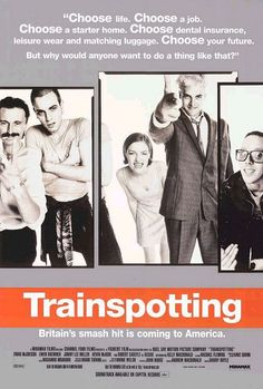 Trainspotting - Renton, deeply immersed in the Edinburgh drug scene, tries to clean up and get out, despite the allure of the drugs & influence of friends.