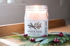 Finding Home Farms Joyeux Noel Soy Candle