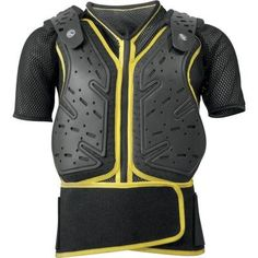 Acerbis Koerta WS Roost Deflector (Black/Yellow, XX-Large) Short sleeves take comfort and mobility to the next level. Deflector does not restrict movement, even when the conditions are demanding. Small/Medium: 5 feet 5 inch - 6 feet