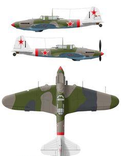 ИЛ-2М3 (чёрный-1) 233 ШАД . 62 ШАП вероятно конец 1944/1945.