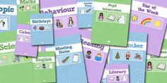 Classroom Management teaching resources for Key Stage 1 - Year Year Created for teachers, by teachers! Primary Resources, Teaching Resources, That Way, As You Like, Year 1 Classroom, Math Meeting, Birthday Calendar, Teacher Planner, Binder Covers