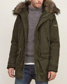 Mens Parkas Outerwear & Jackets | Abercrombie.com