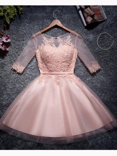 2018 Homecoming Dress, Prom Dresses Pink, Homecoming Dress Short, Homecoming Dress For Cheap Prom Dresses 2019 Junior Homecoming Dresses, Cute Homecoming Dresses, A Line Prom Dresses, Cheap Prom Dresses, Short Dresses, Dress Prom, Graduation Dresses, Special Dresses, Dance Dresses