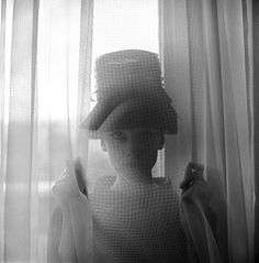 Audrey Hepburn photographed by Cecil Beaton, 1950s.