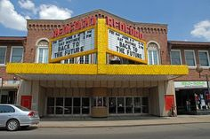 The Old Redford Theater in Detroit! I used to live within walking distance of this place...love it! Still shows old movies and has a great organ show before the movie!!