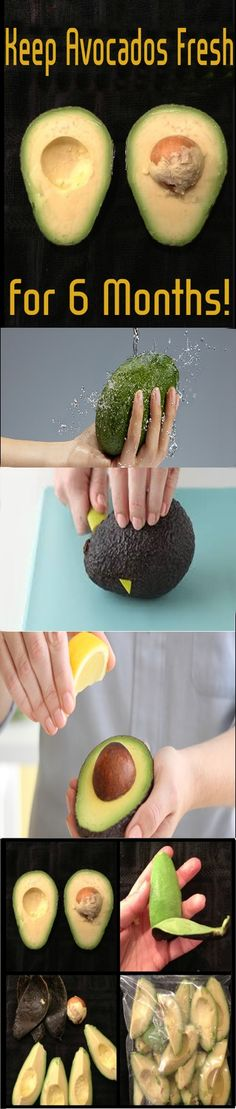 Keep Avocados Fresh for 6 Months!