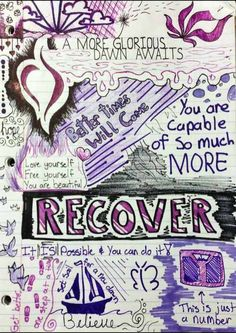 A recovery doodle with a Sagan quote?!?