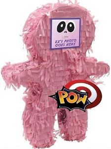 Get ready for some sweet revenge with Hex the Ex Pinata. Add a photo of your evil ex in the photo sleeve, place the POW sticker at your desired target, and let your anger out! Pinata expands to approx. wide and does not include filler. Bachelorette Party Supplies, Bachelorette Party Decorations, Sorority Party, Freedom Party, Divorce Party, Party Items, Girls Night, Photo Props, Just In Case