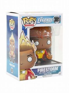 From DC's Legends of Tomorrow TV show - Firestorm Brought to you by Pop In A Box, the site Funko Pop! Vinyl shop