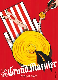 Grand Marnier by Jordi Labanda - this beautiful ad looks vintage but is not (from 2010-2012 advertising campaign in USA and Canada)
