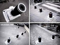 12 Clever Ads on Street Poles and Pillars (street ads, street advertising) - ODDEE