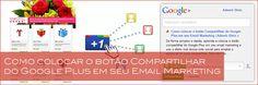 Como colocar o botão Compartilhar do Google Plus em seu Email Marketing   Ademir Diniz