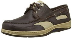 Sebago Men's Clovehitch II Oxford: The Clovehitch boat shoe from Seabago has a weathered leather upper with mesh panels for breathability, padded linings for comfort, and a traditional slotted collar with eyelets to create a nautical feel. Comfortable Shoes, Sperrys, Boat Shoes, Hiking Boots, Brown Leather, Oxford, How To Wear, Nautical, Beautiful