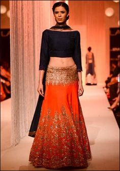 Lakme Fashion Week 2015- Lehengas