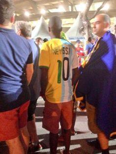 Footix. #Neymar #Messi #Neyssi #CM2014