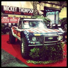 Mickey Thompson's 1975 Chevy Luv Truck Mini Trucks, Cool Trucks, Chevy Luv, Off Road Racing, Pikes Peak, Chevrolet Trucks, Car Stuff, Broncos, Offroad