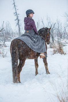 Arctic Horse Tongass Rain riding skirt riding breeches rain pants skirt horse riding trail riding