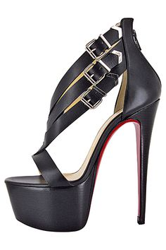 Bow Peeptoe Stilettos by Christian Louboutin. Too bad I will never in my life be able to afford these. Hot Shoes, Crazy Shoes, Women's Shoes, Me Too Shoes, Shoe Boots, Platform Shoes, Dress Boots, Shoes Style, Talons Sexy