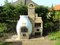 Kemax - Kecskeméti búboskemence grillezővel Pizza Oven Outdoor, Outdoor Cooking, Outside Fireplace, Four A Pizza, Permaculture, How Beautiful, Barbecue, Countryside, Home Improvement