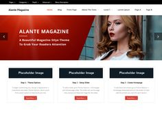 Alante Magazine is the free version of the multi-purpose professional theme (Alante Pro) ideal for a business or blog website. The theme has a responsive layout, HD retina ready and comes with a powerful theme options panel with can be used to make awesome changes without touching any code. The theme also comes with a full width easy to use slider. Easily add a logo to your site and create a beautiful homepage using the built-in homepage layout.