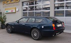 Aston Martin V8 LWB Shooting Brake by Roos