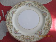"""Noritake 10"""" Nanette Dinner Plate by VintageVeneers on Etsy"""