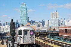 New York: Eine Reise rund um den Globus mit der U-Bahn - DIE WELT