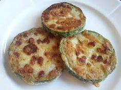 Chikpeaflour breaded succhini