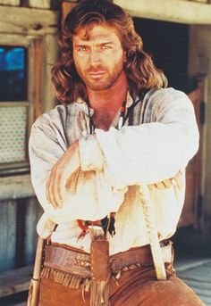 Joe Lando from Doctor Quinn Medicane Women<- lol I used to have such a crush on him when I was a little girl
