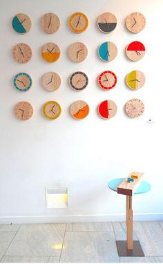 15 idées fabuleuses d'horloges DIY | Astuces de filles