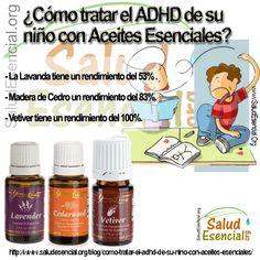 ¿Cómo tratar el ADHD de su niño con Aceites Esenciales? - Salud Esencial