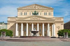 Bolshoi Theatre (Большой театр), Moscow, Russia