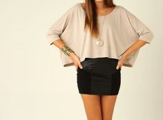 Pretty pencil skirt outfit!