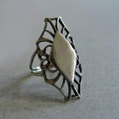 Web Ring Silver, $155, now featured on Fab.