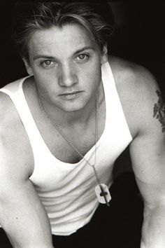 Jeremy Renner  I have to admit he was hot back then but he is way hotter and sexier now!!!
