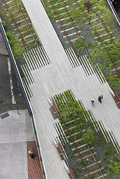 Urban Landscape Architecture Design High Line Ideas Landscape And Urbanism, Landscape Architecture Design, Urban Architecture, Urban Landscape, Landscape Architects, Building Architecture, New York High Line, Urban Park, Modern Landscaping